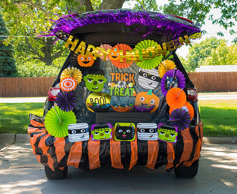Trunk or Treat, October 16th 2-4pm